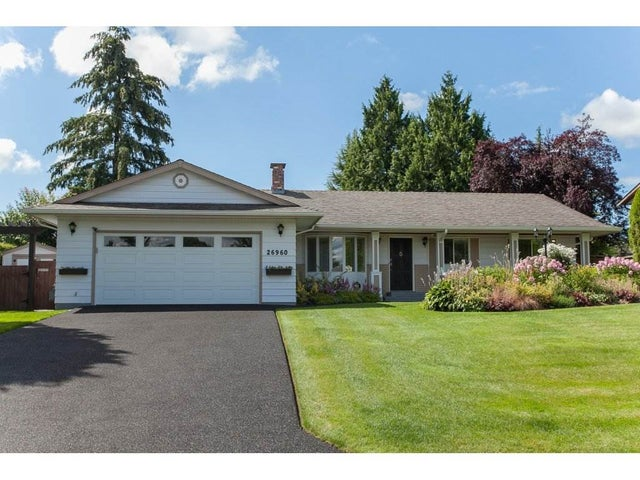 26960 33 AVENUE - Aldergrove Langley House/Single Family for sale, 3 Bedrooms (R2093754) #1